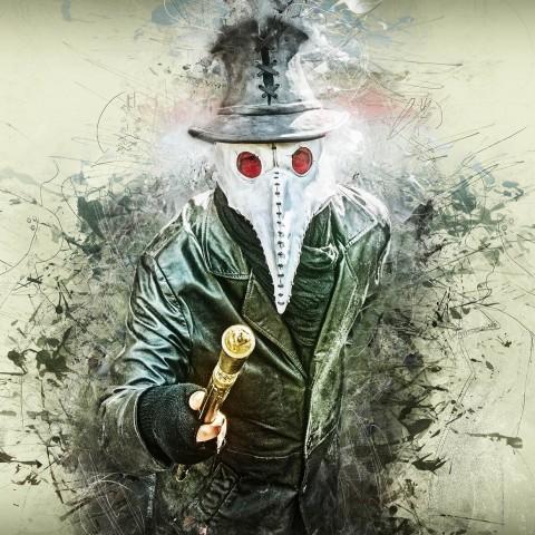 Grunge Plague Doctor