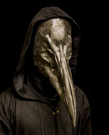 Reaper Plague Doctor Mask Black