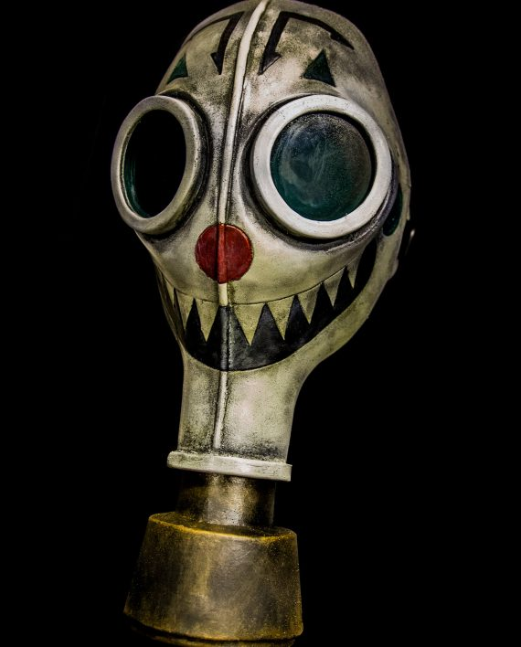 Wheezy Clown Gas Mask