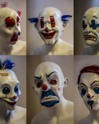 Jokers Henchmen clown masks